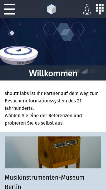 Скриншот shoutr.App