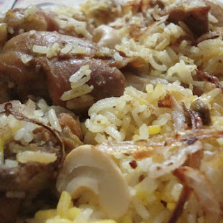 Mutton Leg Roast with Hot & Sour Rice