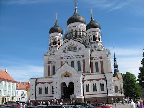 Photo: Russian Orthodox Church in old Town, Tallinn
