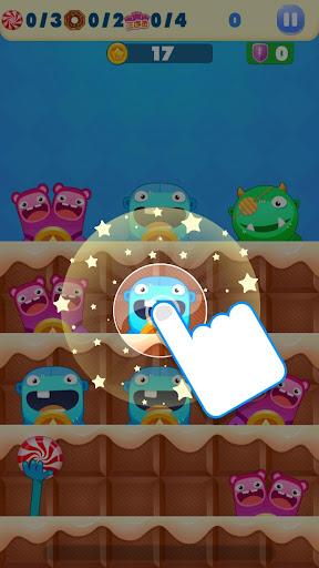 玩免費休閒APP|下載糖果小怪兽 - 呆萌小怪兽的糖果大战 app不用錢|硬是要APP