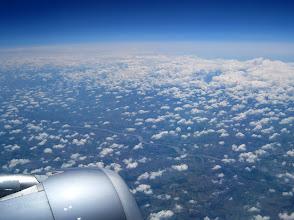 Photo: Flug nach Mallorca. Über Italien werden die Woken weniger.