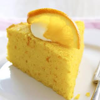 Orange, Polenta and Almond Cake.