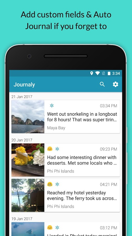 Journaly - Journaling Diary- screenshot