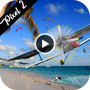 HD Google Pixel 2 / Pixel XL Video Live Wallpaper Created by