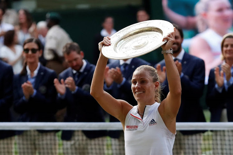 Angelique Kerber became the first German woman to win Wimbledon for 22 years as the 11th seed shattered Serena Williams' bid for Grand Slam history with a shock 6-3, 6-3 victory in Saturday's final
