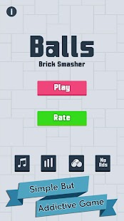 Balls Brick Smasher - Arcade- screenshot thumbnail