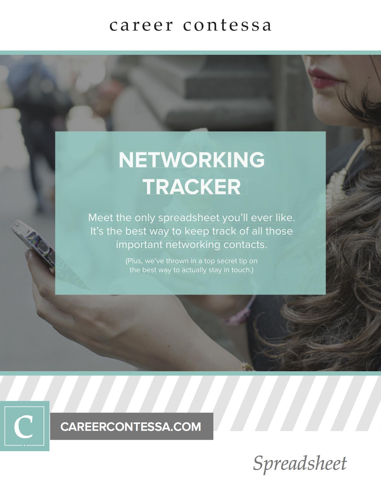 networking tracker 5 ways volunteering help land job