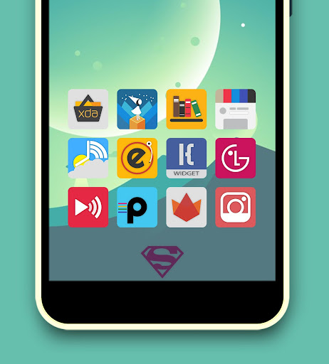 Krix Icon Pack app for Android screenshot