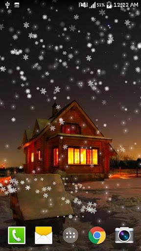 Snow Night City live wallpaper screenshots 3
