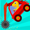 Dinosaur Digger - Truck simulator games for kids icon