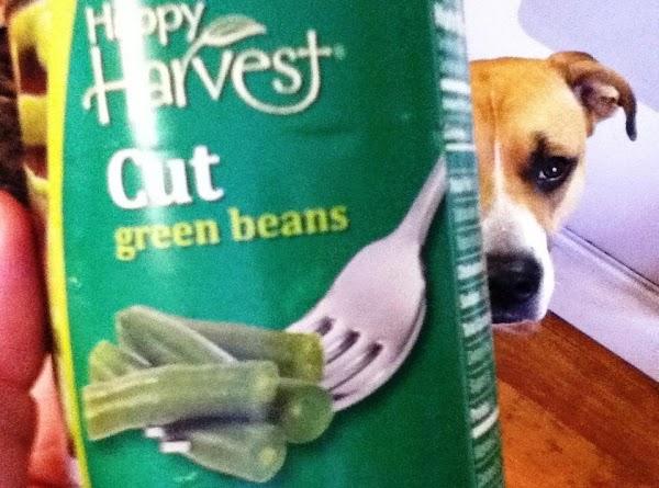 ***NOTE:  4 cups green beans equals 16 - 20 oz frozen green beans,...