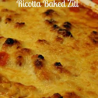 Ricotta Baked Ziti.