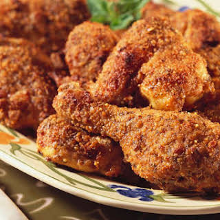Oven Fried Chicken Drumsticks.
