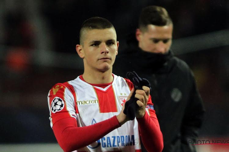 Anderlecht a choisi un jeune attaquant serbe de Francfort