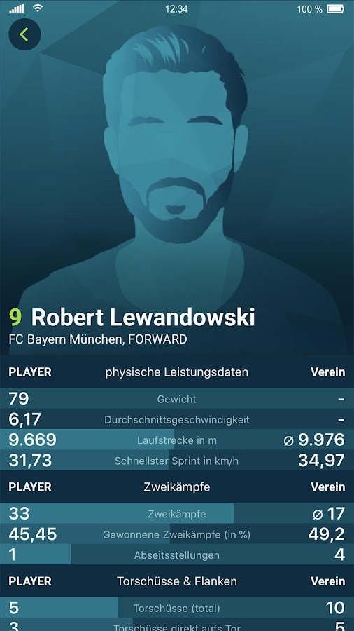 spockstar - Fussball Bundesliga Live – Screenshot
