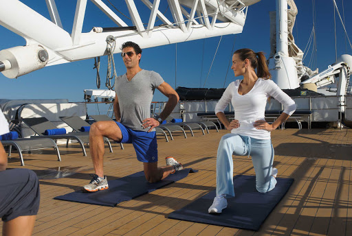 Ponant-Le-Ponant-fitness2.jpg - Refresh the mind and body on Ponant's luxury yacht Le Ponant.