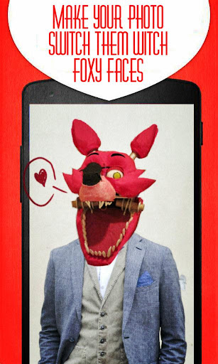 Foxy Face Photo Stickers