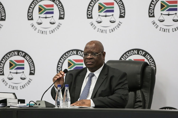 Deputy Chief Justice Raymond Zondo delivers opening remarks, 20 August 2018, in Parktown, Johannesburg, during the opening of the the State Capture Inquiry.