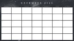 Scratchy Monthly - Monthly Calendar item