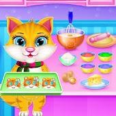 Tải Little Kitty Cookie Sweet Bakery Kitchen miễn phí