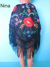 Photo: Mantón de manila negro: 15 euros más envío  (posibilidad de elegir entre más colores)