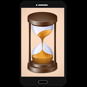 Использование телефона Время