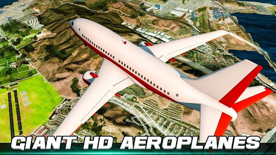 Vr město létání letoun simulátor - náhled