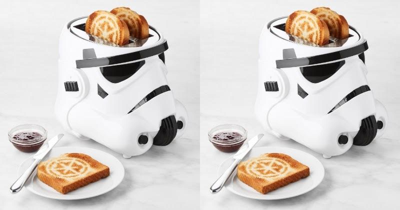 Dāvanas Star Wars faniem tosteris