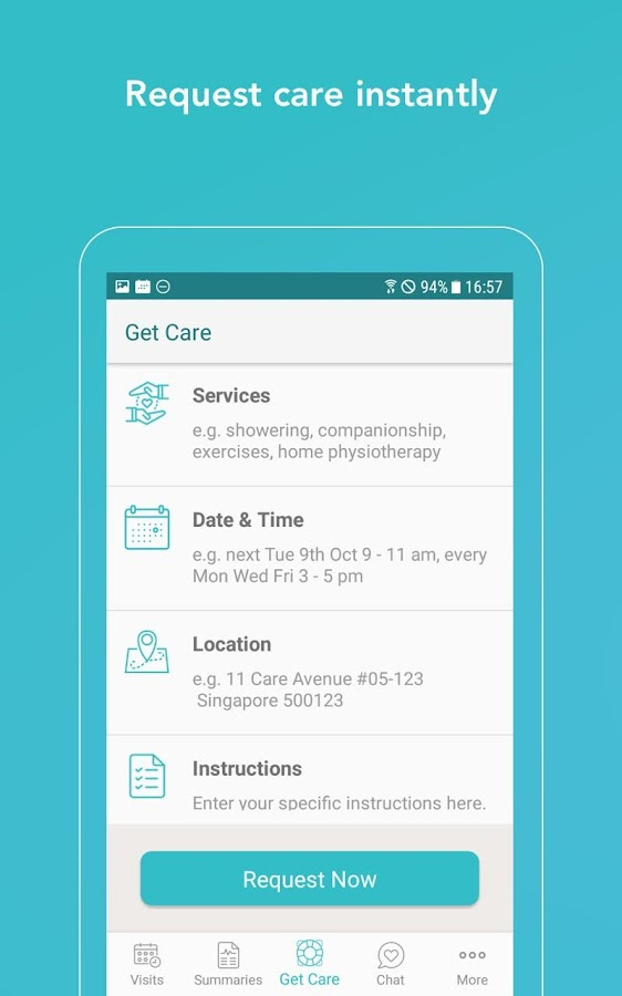 Homage - Quality Home Care for Seniors- screenshot