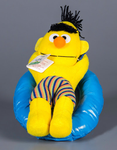 Stuffed animal | water toy:Bert Bath Toy