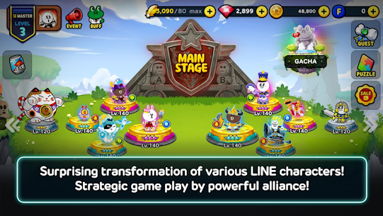 LINE Rangers – simple rules, exciting RPG battles! 2