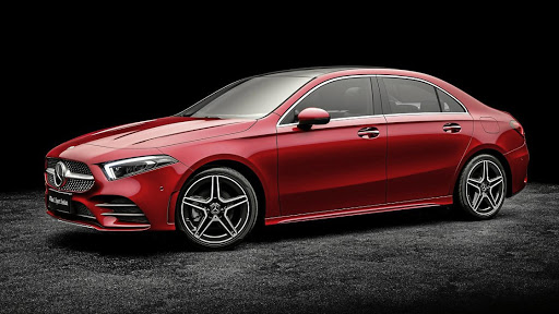 Mercedes is working on an AMG35 version of its A-Class sedan. Picture: NEWSPRESS UK