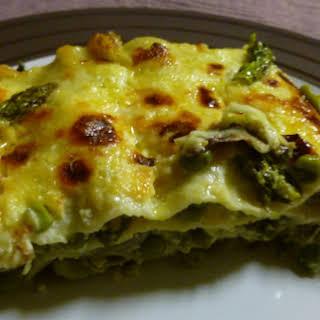 Summer Vegetarian Lasagne.