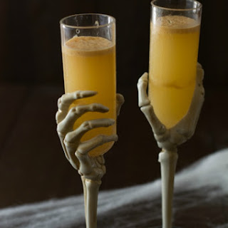 Pumpkin Caramel Hard Cider Cocktail