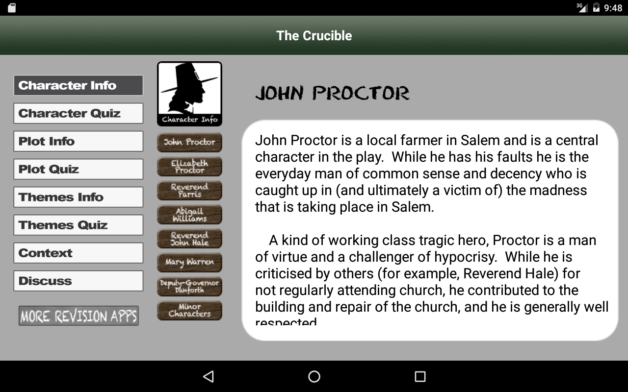 Revise The Crucible- screenshot