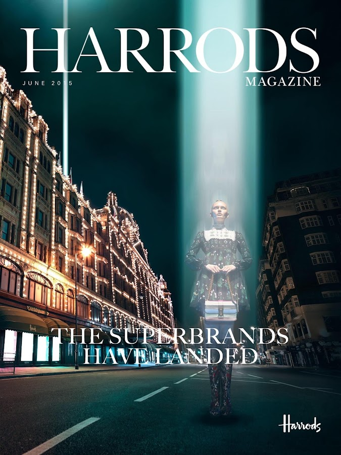 Harrods Magazine - screenshot