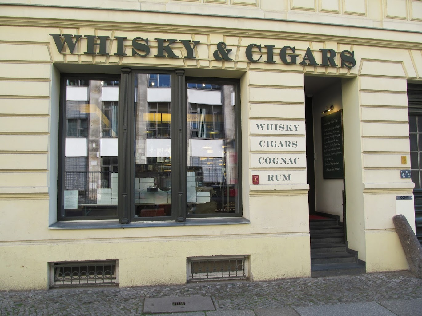 Whisky & Cigars, berlin