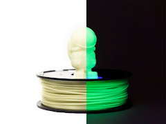 Glow in the Dark MH Build Series PLA Filament - 1.75mm (1kg)