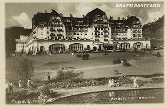 Photo: Hotel Quitandinha. Foto de 1948