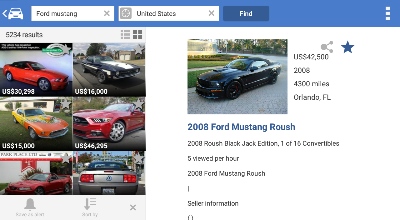 Search for used cars to buy - Android Apps on Google Play