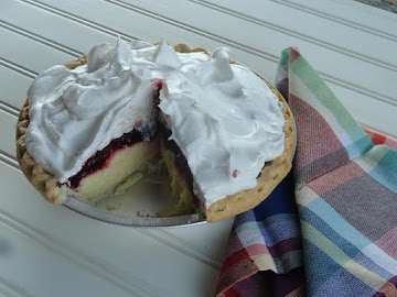 Raspberry Cream Pie Recipe