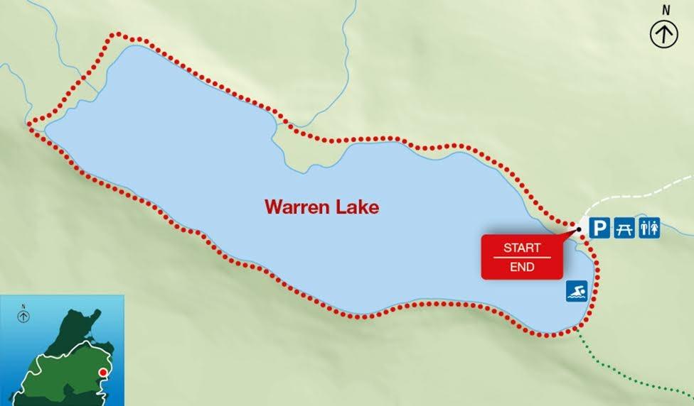 Warren Lake, Park Narodowy Cape Breton Highlands