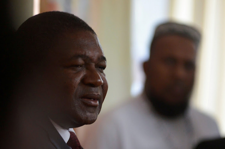 Mozambique's president, Filipe Nyusi. File photo.