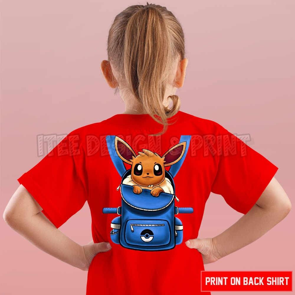 Eevee Pokemon Backpack 18