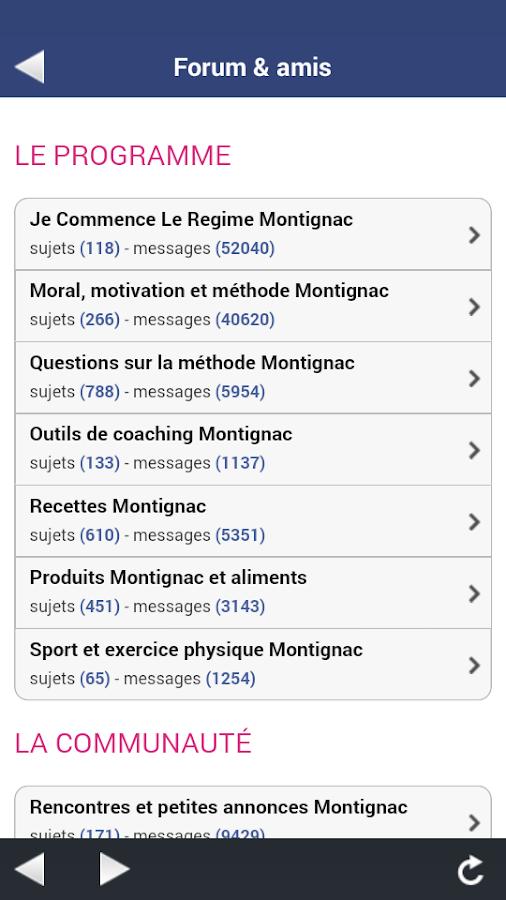 La m thode montignac android apps on google play for Methode montignac