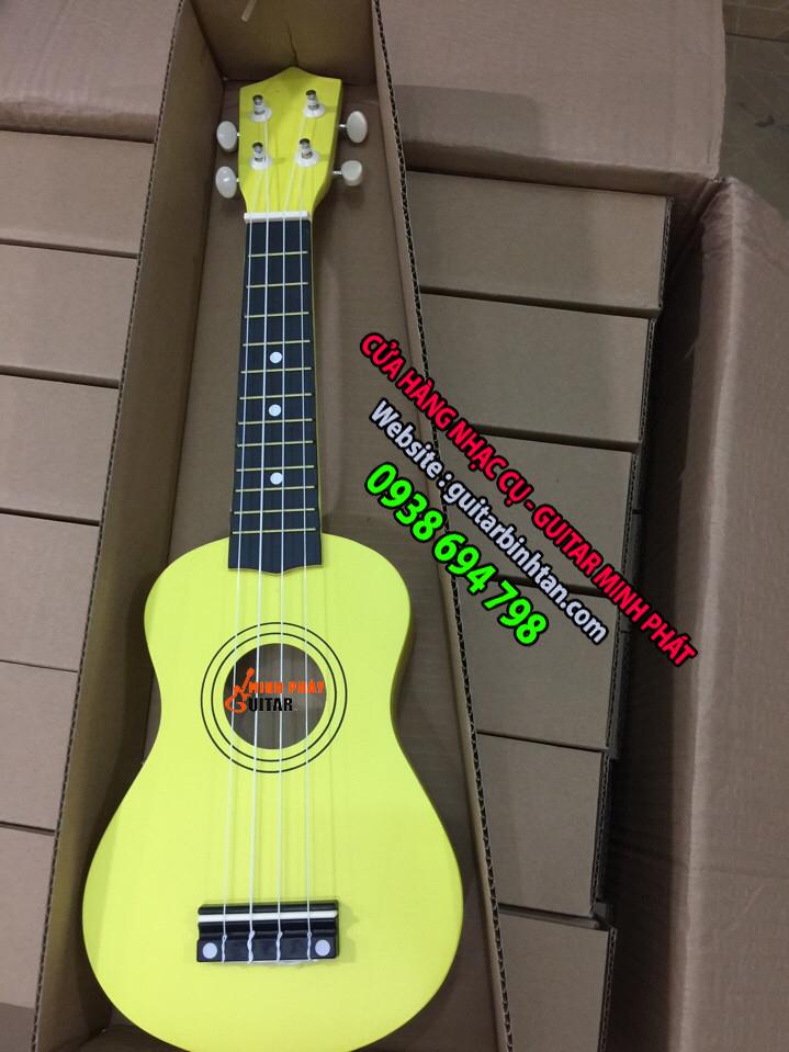 Đàn ukulele màu vàng