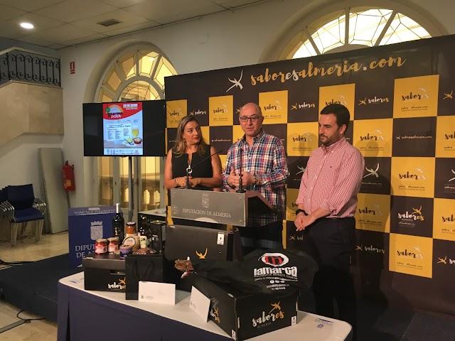 María López, Diego García y Carlos Sánchez durante el acto.