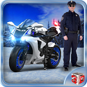 Offroad Police Bike Driving