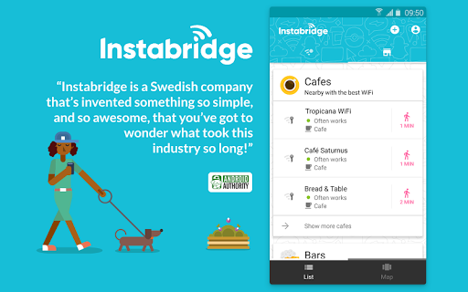 Free WiFi Passwords and Hotspots from Instabridge 14.5.3 gameplay | AndroidFC 2
