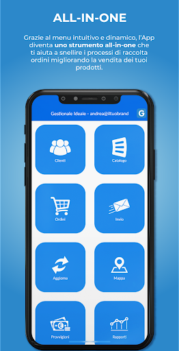 gestionale ideale catalogo e ordini screenshot 2